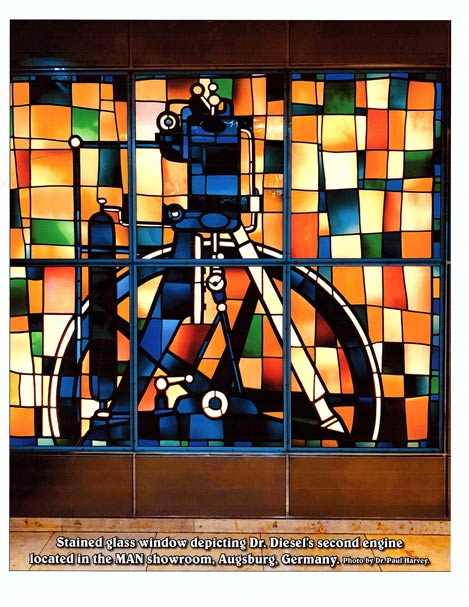 MAN Stained Glass